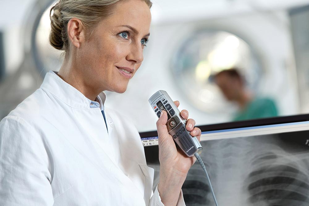 Digitaal dicteren & spraakherkenning voor medisch behandelaren/specialisten